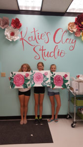 Canvas painting, any time! All ages!