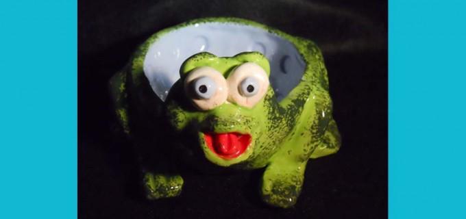 Pinch Pot Frog
