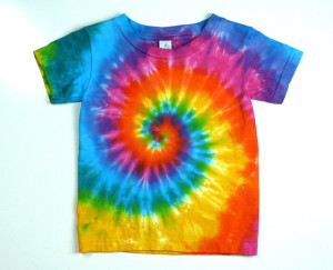 rainbow swirl tie dye
