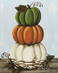 Canvas Class October 2nd from 12 pm to 4 pm Call for a reservation!