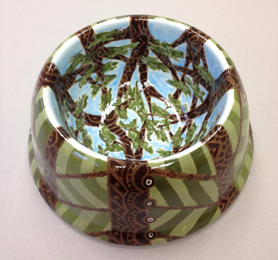 Tree Dog bowl
