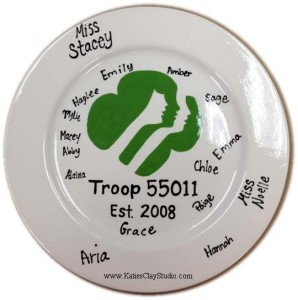 Girl Scout Plate