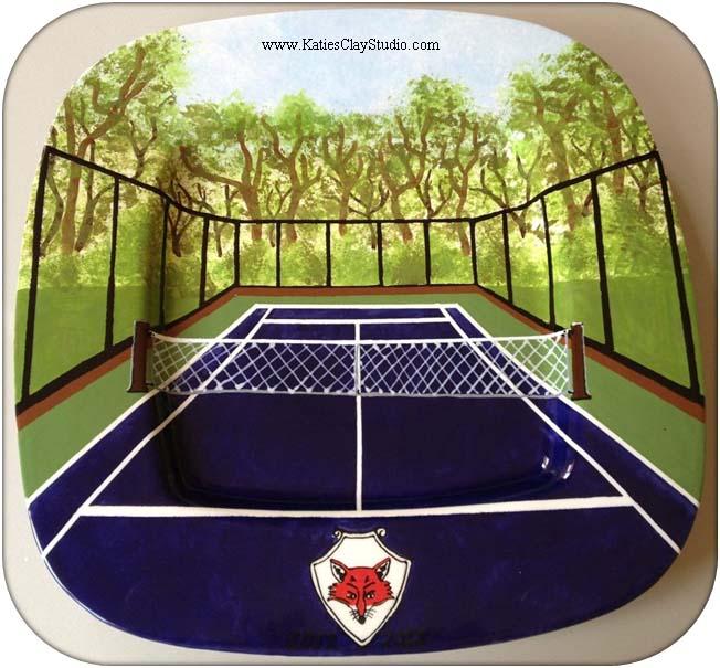 Tennis Plate