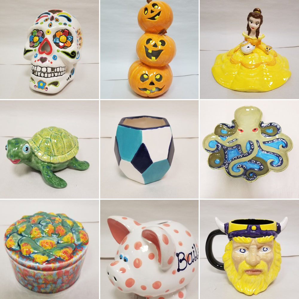 Paint Your Own Pottery - Katie's Clay Studio